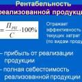Рентабельность реализованной продукции формула расчета по балансу