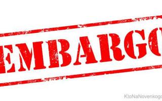 Что такое эмбарго определение