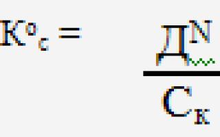 Коэффициент оборачиваемости основных средств формула по балансу
