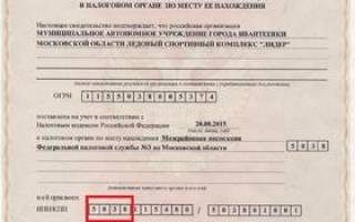 Налоговый орган по месту регистрации как узнать
