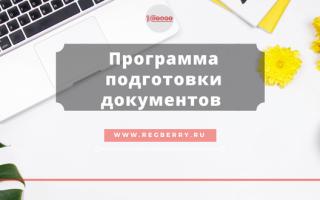 Программа для государственной регистрации юридических лиц