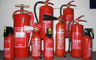 Правила заполнения журнала учета огнетушителей