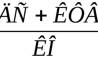 Анализ ликвидности баланса платежеспособности и кредитоспособности организации